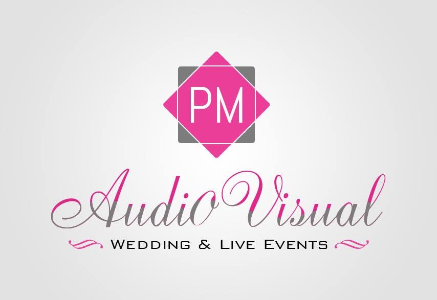 Konkurrenceindlæg #                                        17                                      for                                         Design a Logo for company named P.M. Audio Visual