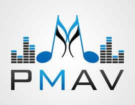 #21 for Design a Logo for company named P.M. Audio Visual by kreativecolorz