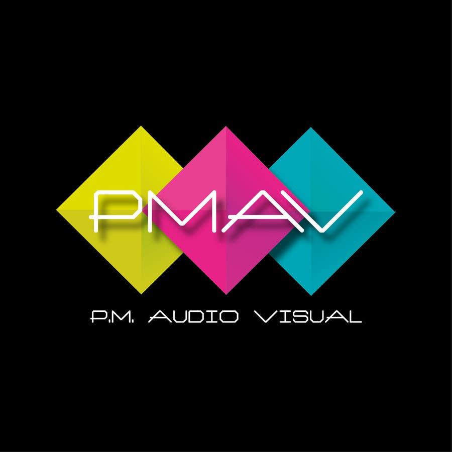 Konkurrenceindlæg #                                        7                                      for                                         Design a Logo for company named P.M. Audio Visual