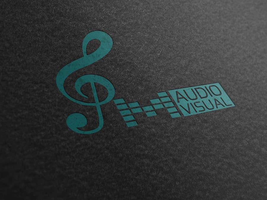 Konkurrenceindlæg #                                        44                                      for                                         Design a Logo for company named P.M. Audio Visual