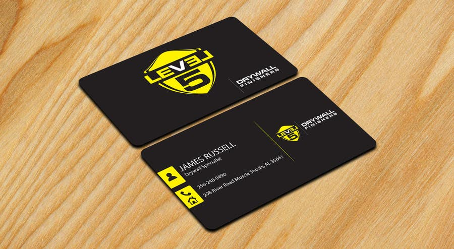 Entry 77 By Sixthsensebd For Design Some Business Cards For Drywall