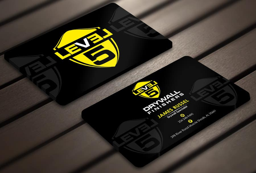 Entry #72 by Derard for Design some Business Cards for Drywall ...