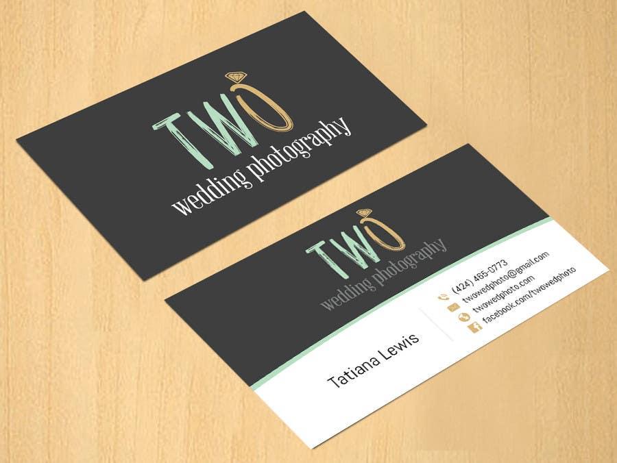 Konkurrenceindlæg #55 for Design some Business Cards for wedding photographers