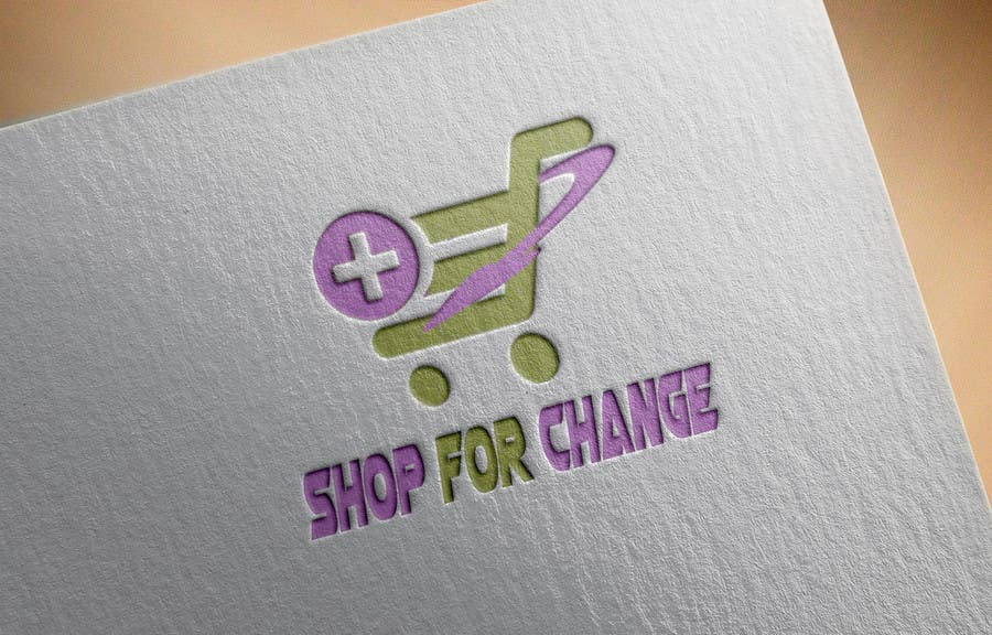 """Contest Entry #41 for Design a Logo for """"Shop for Change"""""""