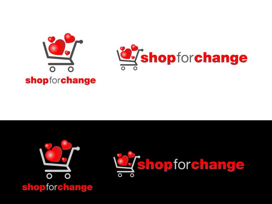 """Contest Entry #43 for Design a Logo for """"Shop for Change"""""""