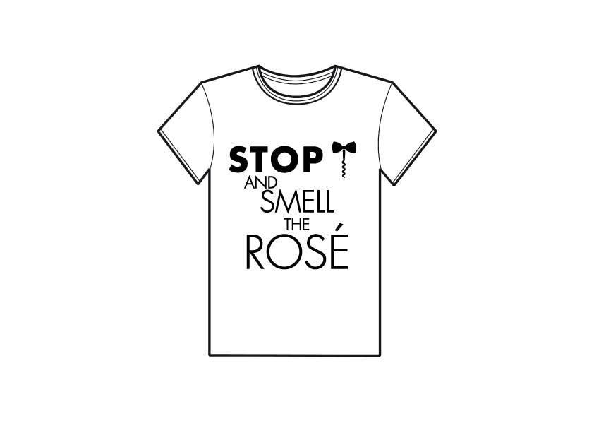 Konkurrenceindlæg #                                        22                                      for                                         Design a T-Shirt for Wine Company