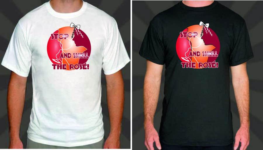 Konkurrenceindlæg #                                        14                                      for                                         Design a T-Shirt for Wine Company