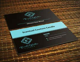 ghani1 tarafından Create business card for Scentual Couture Candle için no 28