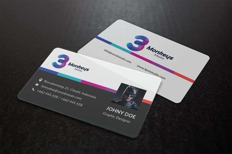 Contest Entry #                                        21                                      for                                         One Awesome Business Card Please!