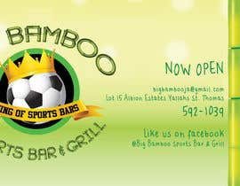 #2 untuk Design a Flyer for my sports bar oleh kopach