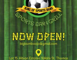 #3 para Design a Flyer for my sports bar por Daiichirou