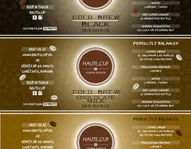 #13 for I need 3 labels for the botteled coffees we are about to launch. af drfranzy