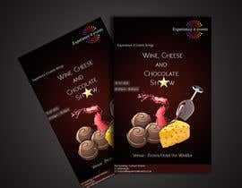 Fazy211995 tarafından Design a Flyer for wine,cheese and chocolate show için no 1