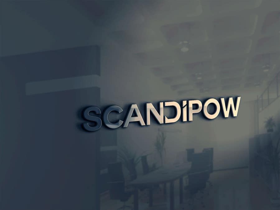 Proposition n°71 du concours Simple and neat logo needed for ScandiPow (Title only so no extra graphics needed)