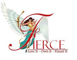 #20 for FIERCE JEWELLERY LOGO - FUN & EXCITING! - INVITING ALL DESIGNERS, CARTOONISTS & ANIMATORS - Logo Requires POLISHING, PROFESSIONAL & HIGH QUALITY - Winged Angel with Bow & Arrow by qshahnawaz