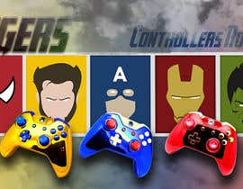 #34 for Create an Avengers / Marvel banner by Trehankrismal