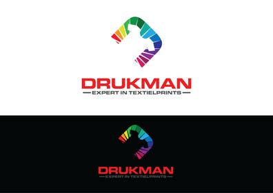 #47 for Ontwerp een Logo for a new company in screenprinting DRUKMAN af affineer
