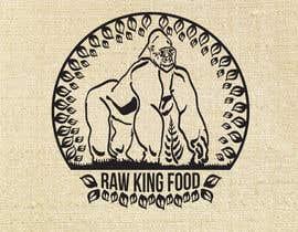 nº 68 pour RawKing Foods Gorilla Design par manakiin