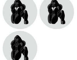 nº 151 pour RawKing Foods Gorilla Design par manakiin