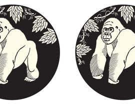 nº 203 pour RawKing Foods Gorilla Design par manakiin