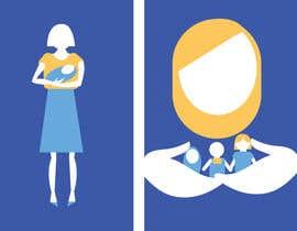 Nro 7 kilpailuun визуализация детско-родительских образов для мобильного приложения käyttäjältä dariakapnist