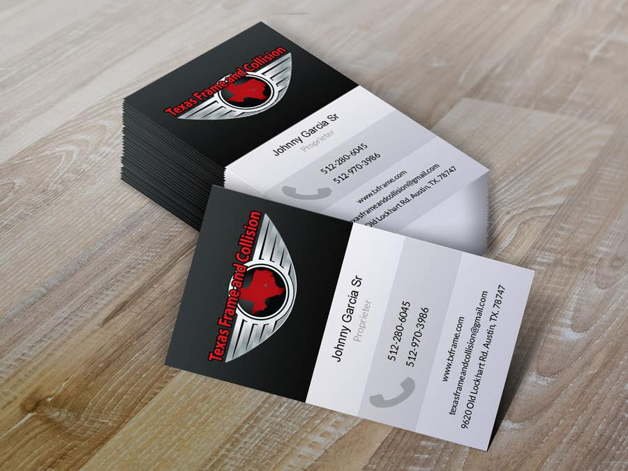 Konkurrenceindlæg #                                        13                                      for                                         Design some Business Cards for Jake 1 Tx F