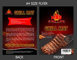 #2 for Mad Griller Flyer/Cover/Print af jhess31