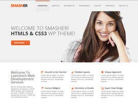 nº 5 pour Create PSD Template for WordPress Site par mukeshlance8