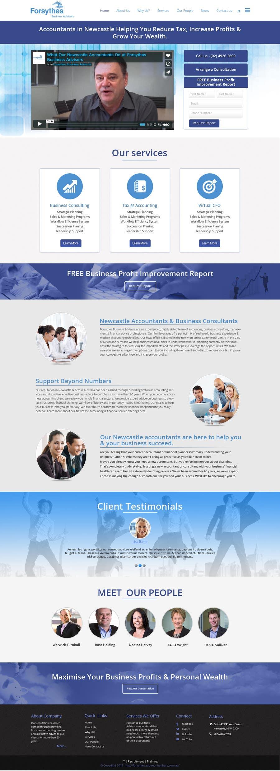 Konkurrenceindlæg #                                        7                                      for                                         Home Page Design & Implementation