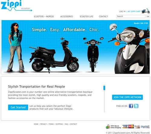 Konkurrenceindlæg #                                        40                                      for                                         ZippiScooter.com Ad Campaign