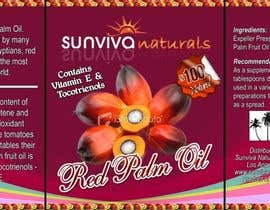 #7 para Red Palm Oil Label por Hammadbhatty