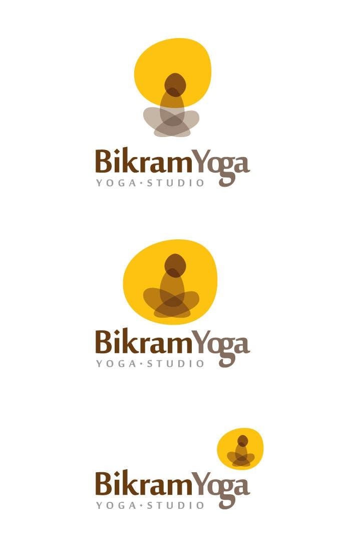 Penyertaan Peraduan #18 untuk Bikram Yoga Mendon Logo design