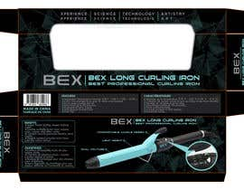 #16 for Create Print and Packaging Designs for Curling Iron BOX by TDuongVn