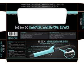 #27 for Create Print and Packaging Designs for Curling Iron BOX by TDuongVn