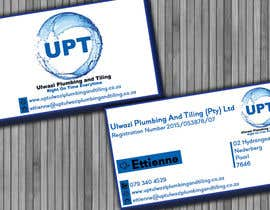 #2 untuk Design a letterhead and business cards for a plumbing and tiling company oleh babaprops