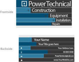 #21 for Design some Business Cards for Power technical by sergiovc