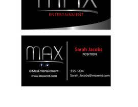 #49 untuk Design a Logo and Business Cards for Max Entertainment oleh LucianCreative