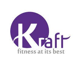 #4 para Design a Logo for KRAFT fitness and spa por Ramisha16