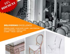 "#15 cho Wedding Show ""Product & Discount Flyer"" - Academy Furniture Hire bởi Mondalstudio"