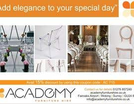 "#7 for Wedding Show ""Product & Discount Flyer"" - Academy Furniture Hire af purvaz"