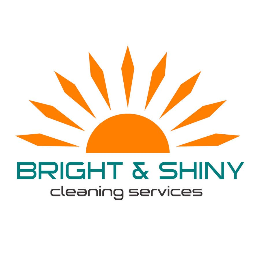 #153 for Design a Simple Logo for Bright & Shiny Cleaning Services by arshidkv12