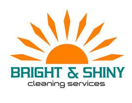 #154 for Design a Simple Logo for Bright & Shiny Cleaning Services af arshidkv12