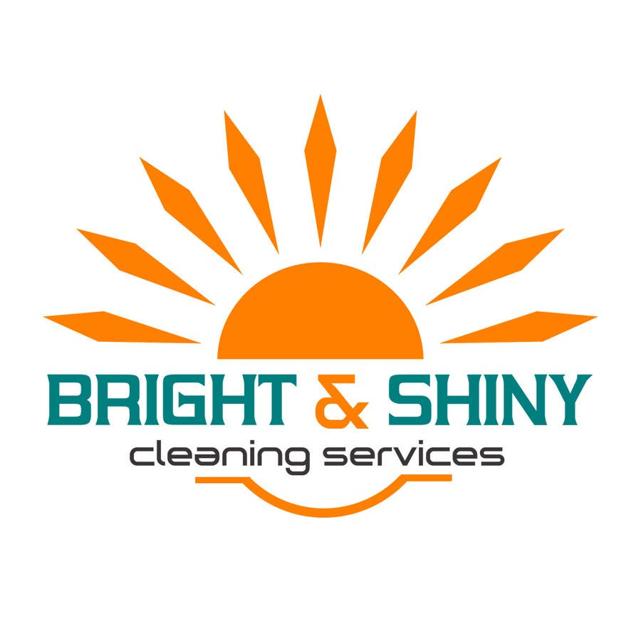 #155 for Design a Simple Logo for Bright & Shiny Cleaning Services by arshidkv12
