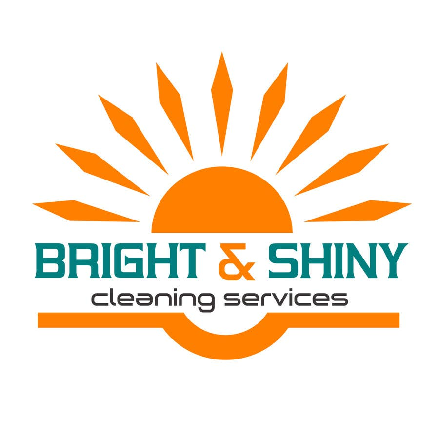 #163 for Design a Simple Logo for Bright & Shiny Cleaning Services by arshidkv12