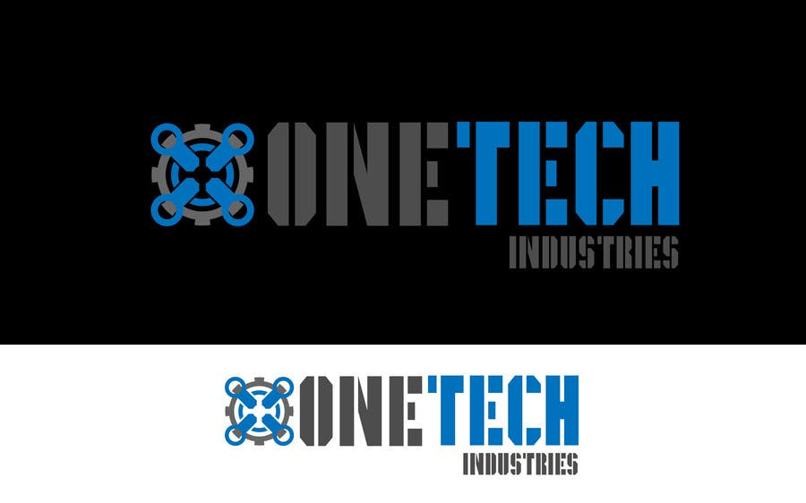 #13 for onetech industries logo design by Cbox9
