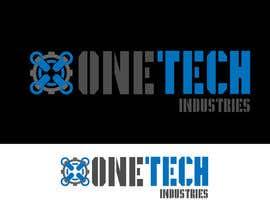 #13 cho onetech industries logo design bởi Cbox9