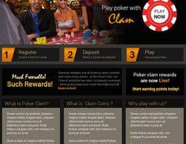 Nro 6 kilpailuun Design a poker website + BONUS käyttäjältä amitwebdesigner