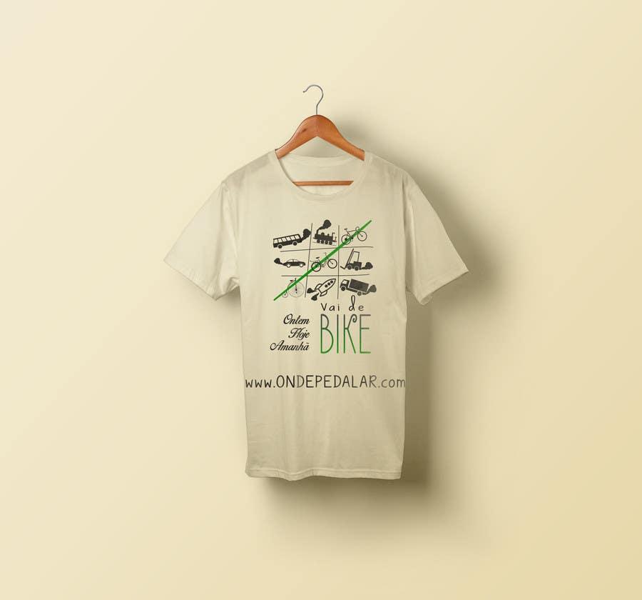 Contest Entry #28 for Criar uma Camiseta para Bicicleta