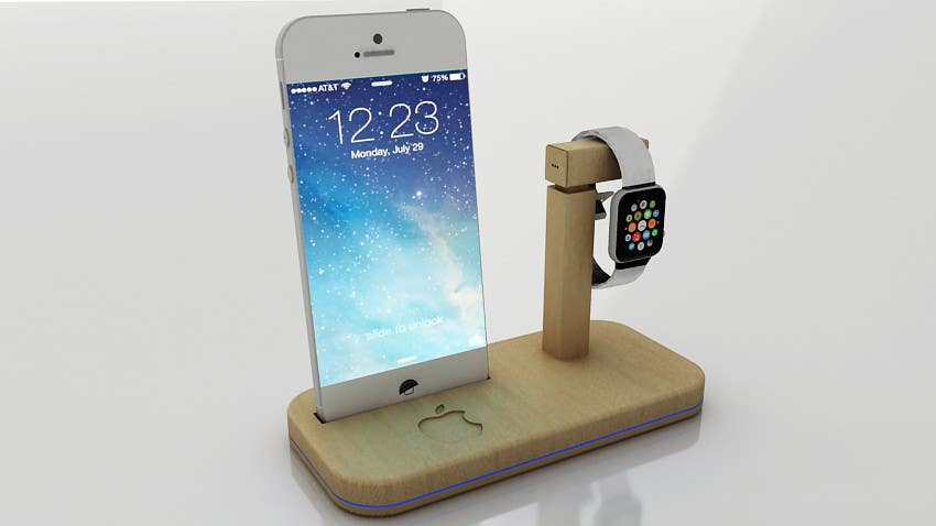 Bài tham dự cuộc thi #40 cho Design and Create a 3d iwatch wooden prototype