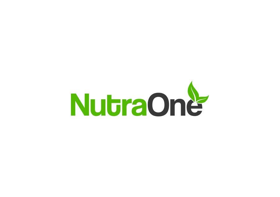 Proposition n°                                        69                                      du concours                                         Design a Logo for NutraOne Supplement Line
